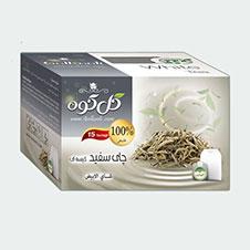 چای سفید گل کوه 15 عددی