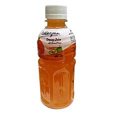 آبمیوه پرتقال با تکه های نارگیل تایم استار 320 میلی لیتری