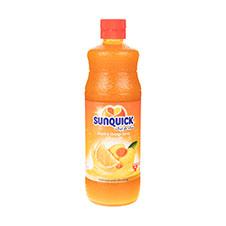 شربت پرتقال هلو سان کوئیک 750 میلی لیتری