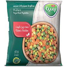 سبزیجات مخلوط پمینا 400 گرمی
