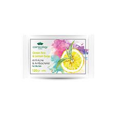 صابون چای سبز و لیمو کاسمکولوژی 120 گرمی