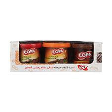 شکلات صبحانه فندقی کوپا 3 عددی