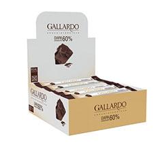 شکلات تلخ 60% گالاردو 30 عددی