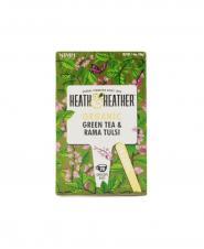 چای سبز و ريحان ارگانيک هيت اند هيتر 20 عددی