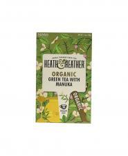 چاي سبز با عسل درخت مانوکا ارگانيگ هيت اند هيتر 20 عددی