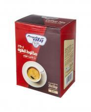 پودر شير قهوه کافی ميکس فوری شده پگاه در بسته بندی ساشه 18 گرمی