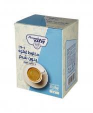 پودر شير قهوه بدون شکر فوري شده پگاه در بسته ساشه 18 گرمی