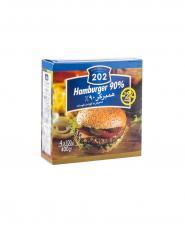 همبرگر 90 درصد 202 وزن 400 گرمی