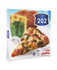 پیتزا مخصوص 202 جعبه مقوایی 450 گرمی