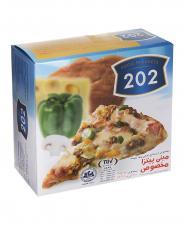 مینی پیتزا 202 جعبه مقوایی 300 گرمی