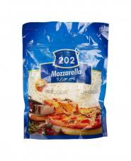 پنیر پیتزا رنده شده 202 وزن 500 گرمی