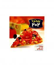 پیتزا پپرونی 202 جعبه مقوایی 450 گرمی