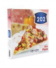پیتزا مخلوط 202 جعبه مقوایی 450 گرمی
