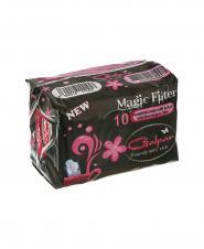 نوار بهداشتی بالدار Magic filter گلپر سایز بزرگ 10 عددی