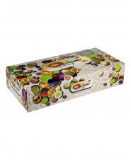 دستمال رنگی گلپر 200 برگ