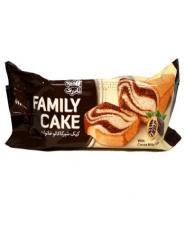 کیک شیر کاکائو خانواده نادری 120 گرمی