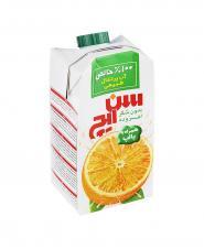 آب پرتقال خالص کامبی بلاک سن ایچ 500 میلی لیتری