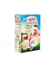 مکمل غذایی کودکان برنجین غنچه با شیر و موز 300 گرمی