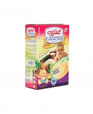 مکمل غذایی کودکان برنجین غنچه با شیر و مخلوط میوه 300 گرمی