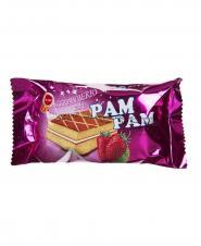 کیک پم پم توت فرنگی مینو 50 گرمی