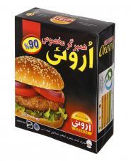 همبرگر مخصوص 90 درصد گوشت اروئی 500 گرمی