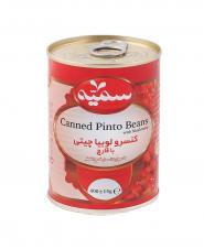 کنسرو خوراک لوبیا با قارچ سمیه 400 گرمی