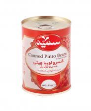 کنسرو خوراک لوبیا سمیه 400 گرمی