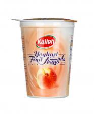 ماست میوه ای هلو کاله ۴۵۰ گرمی
