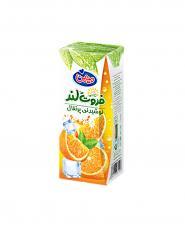 نوشيدني پرتقال بدون پالپ فروت لند ميهن 200 میلی لیتری