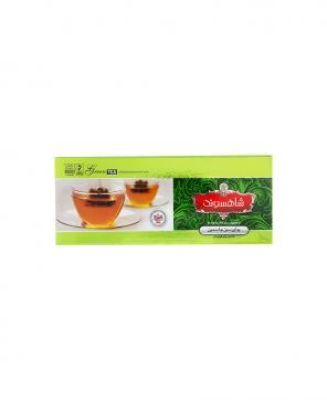 چای سبز جاسمین شاهسوند کیسه ای ۲۵ عددی