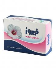 صابون فیروز با رایحه گل ختمی 120گرمی