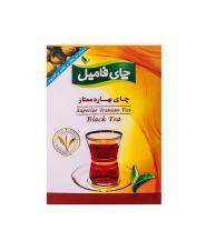 چای سیاه بهاره ممتاز چای فاميل 500 گرمی