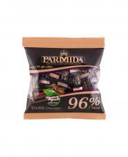 شکلات تلخ پارميدا 96 درصد سلفونی 320 گرمی