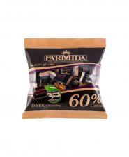 شکلات تلخ 60 درصد پارميدا سلفونی 330 گرمی