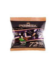 شکلات تلخ 72 درصد پارميدا سلفونی 330 گرمی