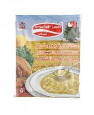 سوپ مرغ و ورمیشل آماده لذیذ 65 گرمی