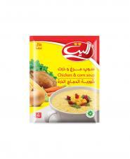 سوپ مرغ و ذرت اليت 65 گرمی