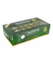 چای تی بگ سبز 12 طعم رفاه لاهیجان 60 عددی 120 گرمی