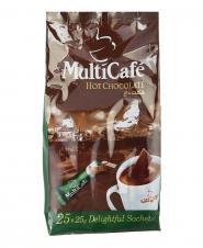شکلات داغ مولتی کافه 25 عددی 25 گرمی
