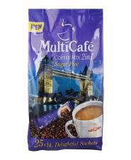 کافی میکس 1*2 بدون شکر مولتی کافه 25 عددی 350 گرمی