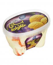 بستنی لیتری فانتزی زعفران دایتی 600 گرمی