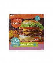 همبرگر 80 درصد گوشت پاکدام 500 گرمی