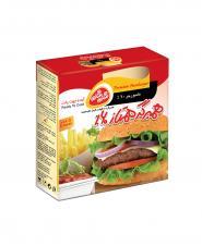 همبرگر ممتاز 60 درصد گوشت شام شام 5 عددی 500 گرمی