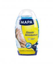 دستکش یکبار مصرف مپا متوسط 10 عددی