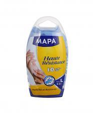 دستکش یکبار مصرف مپا از جنس نیتریل بزرگ 10 عددی
