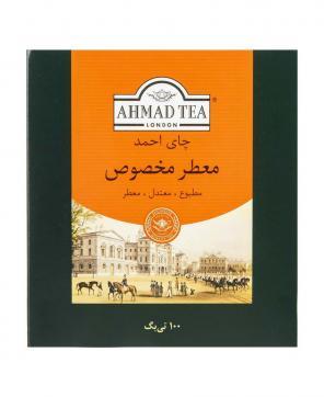 چای  تی بگ معطر مخصوص احمد ۱۰۰ عددی
