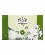 تی بگ چای سبز یاس پاکت دار احمد 25 عددی