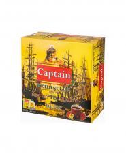 چای تی بگ معطر پاکت دار کاپیتان 100 عددی