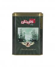 چای شکسته ممتاز سیلان کاپیتان قوطی فلزی 450 گرمی