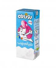 شیر کم چرب 1.5 درصد چربی روزانه 200 میلی لیتری